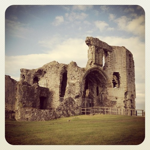 Arrived at Denbigh Castle  (Taken with instagram)