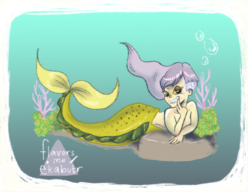 redid my tumblr layout with this sassy mermaid (i'm starting to think i have a thing for half shaven hairstyles). but i also made it available as a sassy print too. when i was small one of my first and biggest influences was Disney's The Little Mermaid. I became fascinated by the folklore in general, reading books and learning that the story of the mermaid was actually much darker. it was also the main reason why I grew out my hair to a redic length and i'd play out the scene where Ariel sings on the rock when i'd take a bath. but anyway.