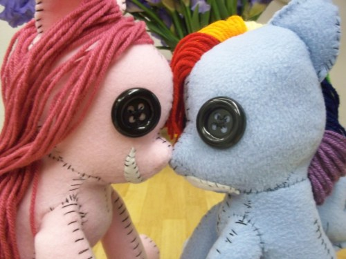 ponywithafez:  snizabelle:  So my plushie making/art blog is charletothemagne.tumblr and I just finished creepy Rainbow Dash and am gonna spam pics so HEAD ON OVER KIDS  signal boost  OMG