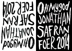 onthestrand:  JONATHAN SAFRAN FOER | NEW NOVEL | 2014 Simon Prosser, Publishing Director of Hamish Hamilton, has acquired British and Commonwealth rights for Jonathan Safran Foer's third novel, Escape from Children's Hospital, the follow-up to the internationally-acclaimed, bestselling Everything is Illuminated and Extremely Loud and Incredibly Close.  A fictionalised account of a life-changing event that happened to the author as a nine-year-old - an explosion in a summer camp science class, which left his best friend without skin on his face or hands, and whose brunt the author avoided by inches and for no good reason - this is a story about the shared trauma of childhood, the potential destructiveness of storytelling, and the redemptive power of friendship.  Weaving precariously between non-fiction and fiction, and existing at the intersection of different styles (suspense, memoir, imaginative storytelling), the book moves out from that moment in 1985 to the repercussions on the ever-expanding circle of those affected by it. Explaining his ambition for the book, Jonathan Safran Foer writes: 'What actually happened that day? What is a novel capable of? These are the two questions I have been living inside of, and I hope they will answer one another: my novel is what happened that day; and a truthful, experiential telling of that day is what the novel is capable of.' Simon Prosser comments: 'I couldn't be more excited about a novel or about a writer - and I am thrilled that we are the first of Jonathan's publishers to acquire this book.' Picture by Sonja Kresowaty in homage to Gray318    OHMYGOODNESSYES