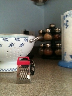 Mini grater from my mum.