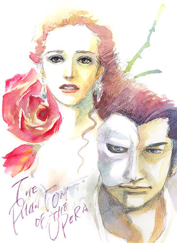 The Phantom of the Opera by taka0801  View more work from taka0801, on his devaintART portfolio.