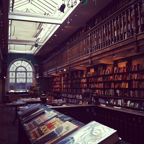 "A novel idea (Taken with Instagram at Daunt Books Marylebone) - *New books on my wish list this week are  - Sally Butcher's Veggiestan, ""A vegetable lover's tour of the Middle East"" & Ariana Bundy's Pomegranate and Roses, ""Part memoir, part travelogue, this evocative collection of Persian recipes is a celebration of a vibrant culture and its cuisine"""