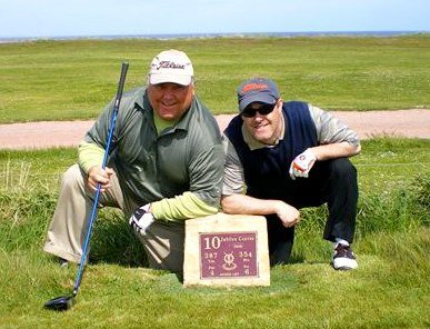 Named the Spires Hole at St Andrews, Jubilee Course #10. And my Dad birdied it!