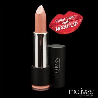 Max Lips Lipstick!Mool is in love with this nude lipstick, sooooo hot with smoky eyes or just some mascara and a bit of blush- make it 60's and sexy with a sweepy flick of motives liquid eyeliner along your lash line. For pre orders drop us a line girls xoxoContains MAXI-LIP™, a natural tripeptide that visually enhances lips by supporting healthy lip collagenMoisturizes lips and makes them look firmer, smoother and better definedFuller-looking lips that feel more hydratedHas a creamy, silky textureParaben free