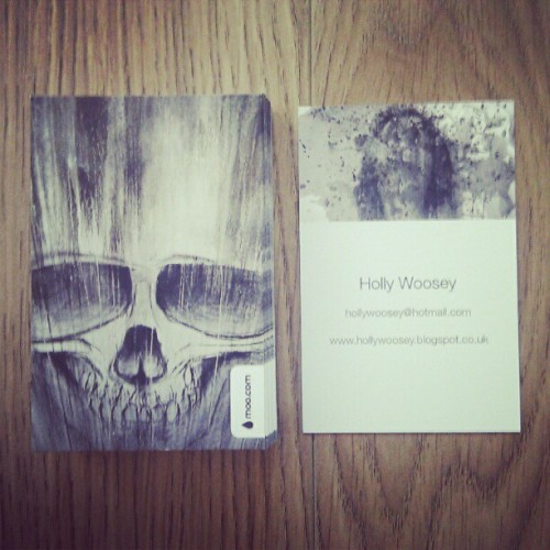 Yey! Business cards arrived :D (Taken with instagram)