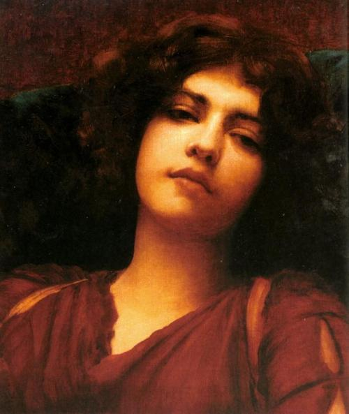 John William Godward, Reverie (study)