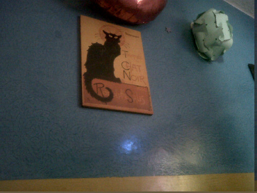 Chat noir room