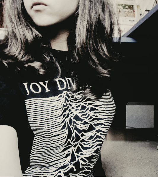 I love my joy division t-shirt.