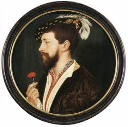 brazenswing:  Hans Holbein: Portrait of Simon George, 1536.  he is a beautiful man.