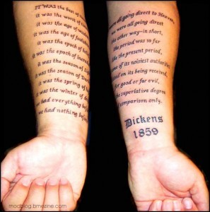 from Literary Tattoos