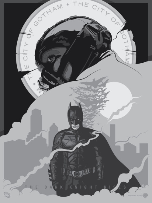 the dark knight rises - fan poster