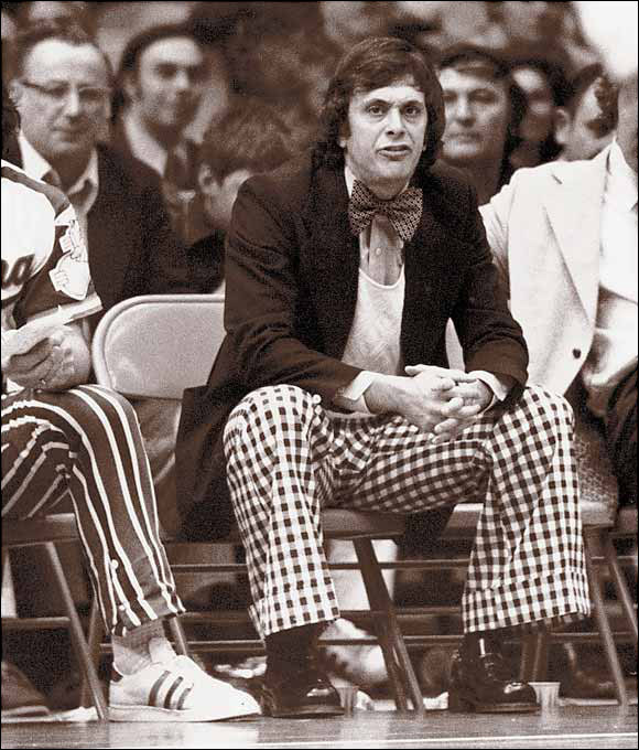 Larry Brown coaches the ABA's Carolina Cougars during the 1972-73 season. He would go onto win Coach of the Year and lead the Cougars to a 104-64 record in two seasons with the team. Brown, now 71, has agreed to take over as head coach of the SMU Mustangs, his first college coaching position since Kansas in 1988. (AP) GALLERY: Larry Brown's Basketball OdysseyGLOCKNER: Will Brown find success at SMU?
