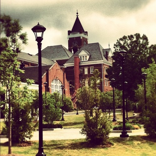Hello Winthrop University (Taken with instagram)