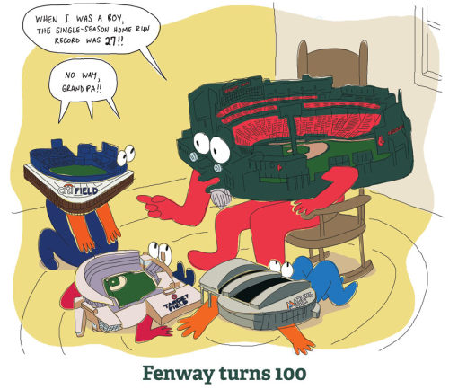 ag6154a:  take notes, kids.  Baby Target Field loves Grandpa Fenway's stories?