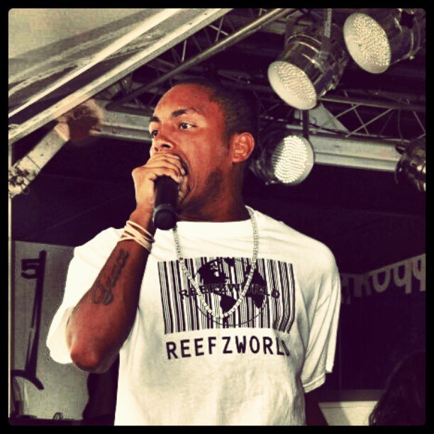#A-Ron #performance #reefzworld  (Taken with instagram)