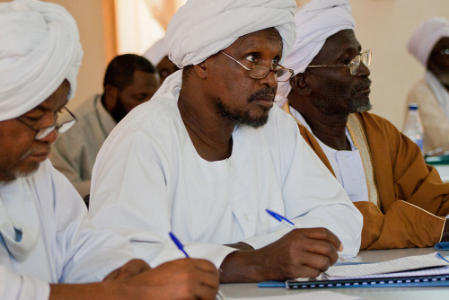 In Darfur, UUSC is supporting trainings to engage religious and community leaders in reducing domestic violence. This photo was taken at a January 2012 workshop in Darfur. To learn more, visit http://www.uusc.org/darfurjanuary2012 Photographer: Maha Alkhateeb