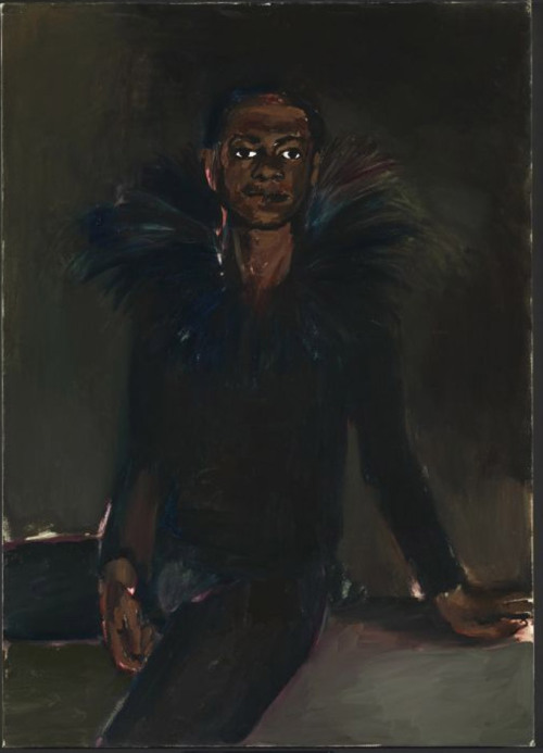 Artist of the week 186: Lynette Yiadom-Boakye  Lynette Yiadom-Boakye is one of life's great manipulators – at least when it comes to paint. She nudges the gooey stuff into shape, coaxing figures from gestural strokes. The people she depicts are often doing some unremarkable everyday act, like lying down or removing a sock.  Read the whole article here