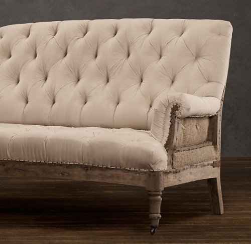 source: Restoration Hardware ~ deconstructed French furnishings @ RH