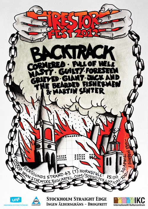 Last chance to get presale tickets for FIRESTORM FEST 2012 is on Sunday (22nd of April). Get them at our Big Cartel now!