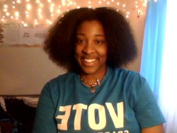 Blow Dried My Hair For My G.Choir Concert On Saturday.