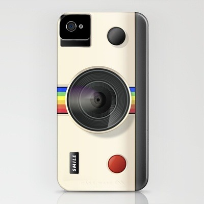 Designersgotoheaven.com - If you love Instagram or Polaroid Cameras, buy this iPhone Case by @AndreiRobu.