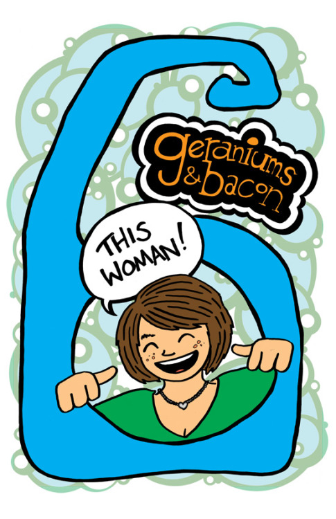 It's a spanky new issue of my autobio/humor minicomic Geraniums and Bacon! CONTENTS INCLUDE: Ballroom dancing, mountains in Switzerland, anxiety, what I did that time I was a bit crunk in Chicago, a make-believe story about a werewolf, and a little thing about my period because that's how I roll. Debut at Boston Comic Con, April 21-22! Look for it online and in Boston-area comic shops shortly after that!