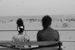 Coney Island Bench I