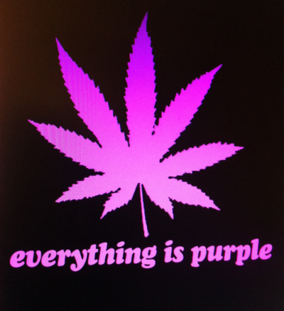 Everything is purple ~