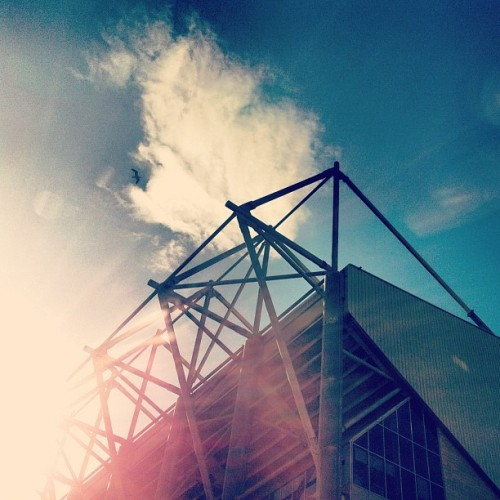 Beautiful day in Newcastle (Taken with Instagram at St James' Park, Newcastle United FC)