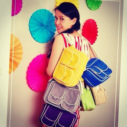 Sheila Everyday Messenger Bags now available :) (Taken with instagram)