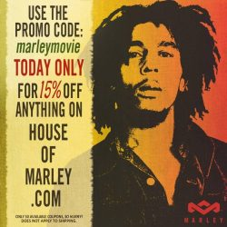 Bob Marley - THE definitive documentary  OUT TODAY!   universalmusic:  To celebrate 4/20 and the release of MARLEY, we're giving you guys 15% off anything from The House of Marley. Check out their store now: www.houseofmarley.com