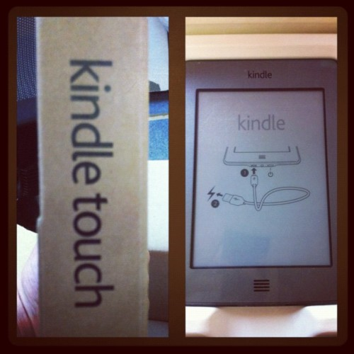 Yay! I'm now apart of the Kindle family, lol. Bring on the ebooks! 😄 (Taken with instagram)