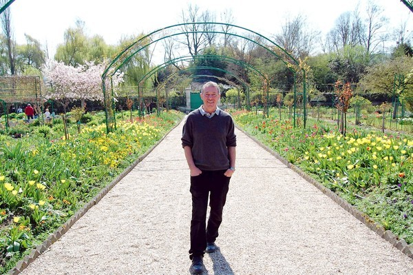 "James Priest, an English horticulturist, is one of only three men to have held the title ""Head Gardner at Giverny,"" and that includes the garden's founder, Claude Monet. Learn more about the new caretaker of this legendary garden, and you might gain some insight into why we are launching a recreation of these magical gardens right here in New York. ~AR"