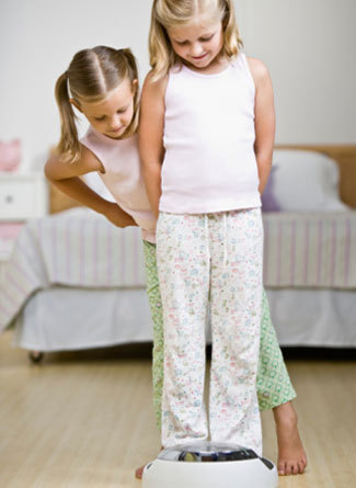 "According to a 2009 study, 50% of little girls 3-to-6 think they're fat.   What does it even mean when a 3-year-old thinks she's ""fat?"" It may not have anything to do with BMI or conscious societal expectations, but children know it's ""bad….""   As Dr. Robyn Silverman summarized, the studies basically showed a few things: 1. ""Thin means I want to play with you and fat means I don't want you as a friend"";  2. ""Thin means you're nice and fat means you're mean"";  3. ""Thin means we prefer you.""  Irrational? Yes — but not that far a cry from the fat-phobia adults express less-directly on a daily basis. What's alarming is that it's internalized so young."" via Jezebel. http://jezebel.com/5795814/incredibly-young-children-think-theyre-fat"