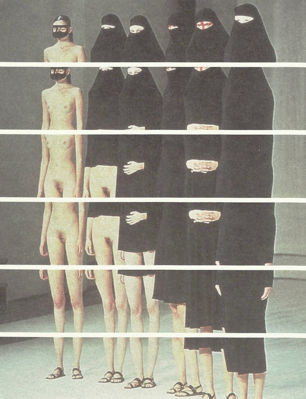 petrole:  between, hussein chalayan spring summer 1998