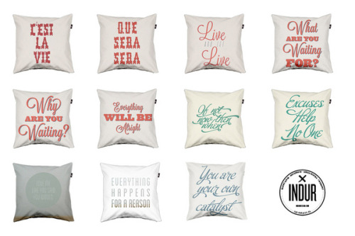 New Pillow's are up for sale on Envelop.eu!