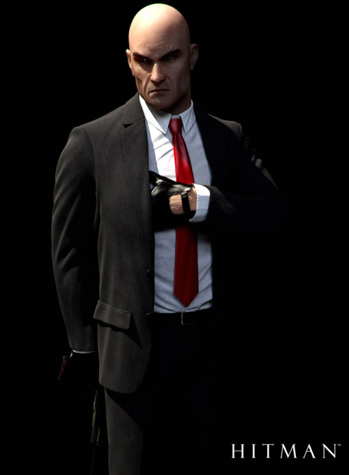 I created the in-game version of Agent 47 for Hitman Absolution and wanted to created a few renders of him to show of here. So based on the game assets I created these high resolution renders in 3ds Max. Wallpapers on site. http://www.characterink.com