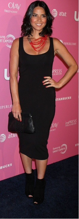 "Olivia Munn rocked an ASOS tank dress at Us Weekly's ""Hot Hollywood Style Event"" on April 18th in California!"