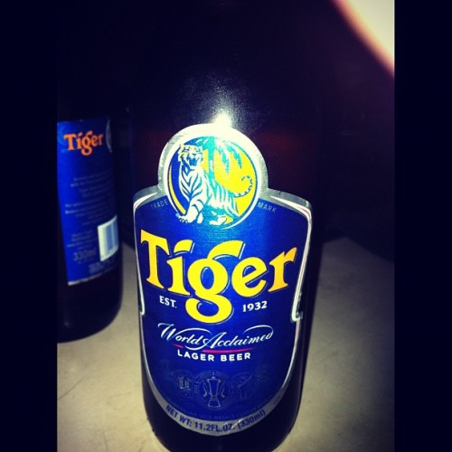 Tiger Beer!! #tigertranslate (Taken with instagram)