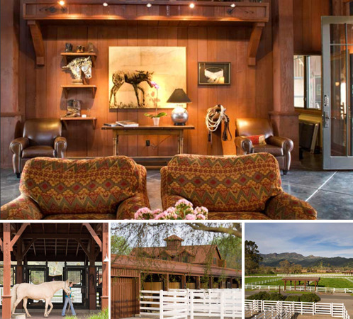 Horse-lovers, feast your eyes on this extraordinary 22-acre equestrian facility, designed by Backen, Gillam & Kroeger, one of Architectural Digest's Top 100 Architectural Firms for 2012, and located in Calistoga, CA.