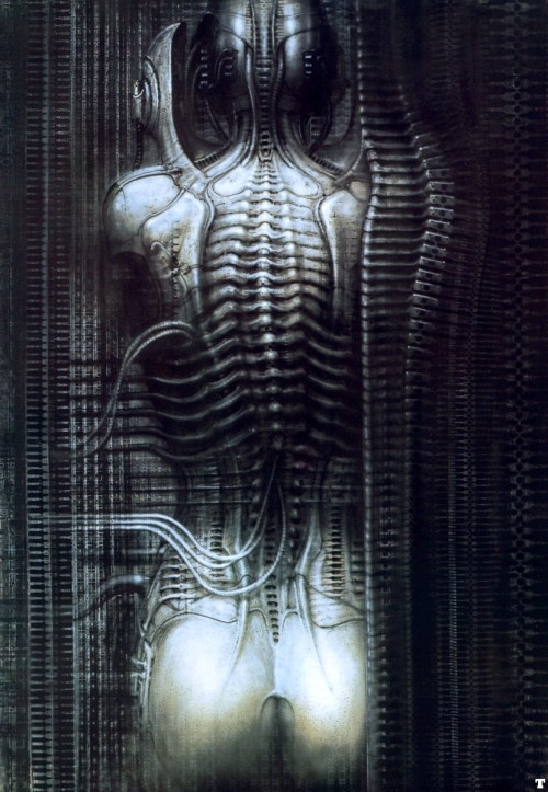 HR Giger - New York City VI - torso