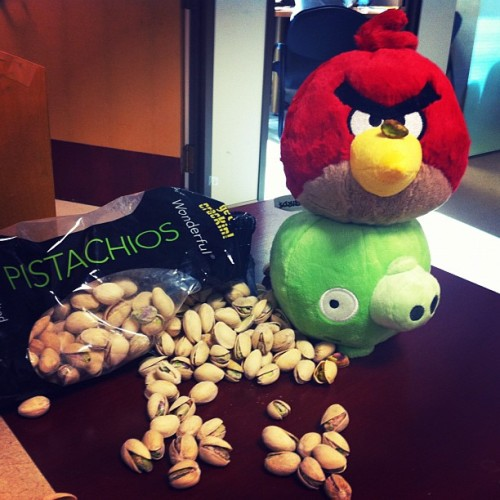 There's no stopping these guys from getting their Wonderful Pistachios!