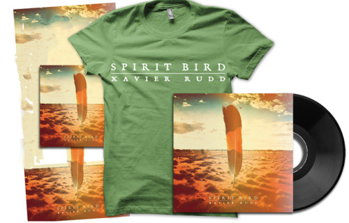 "As mentioned earlier in the week, we signed Xavier Rudd. His new album is going to be called 'Spirit Bird' and will be released on June 5th.  Our Pre-Order is up for sale in our online store. Here are the options: CD / LP / CD & T-Shirt/ LP & T-Shirt / CD+LP+Poster+Shirt (pictured) Check out the video for ""Follow The Sun"" from Spirit Bird"