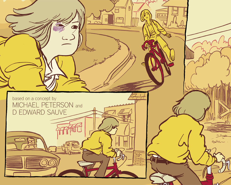 kevinczap:  Project: Ballad, page 2 New pages up over at the site. Three up now, next week starting monday you'll get 5 more, once a day before settling into our MWF schedule. Check it out, tell your friends. Love you. http://projectballad.com  get down or get out