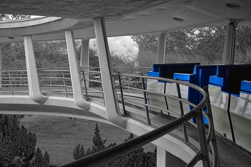 Disney - Tomorrowland Transit Authority - Where I Wanna Be (Explored) by Express Monorail on Flickr.