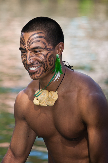 Traditional Maori Moko/Facial Tattoo