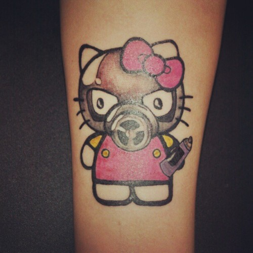 #hellokitty #graffiti #ink #tattoo  (Taken with instagram)