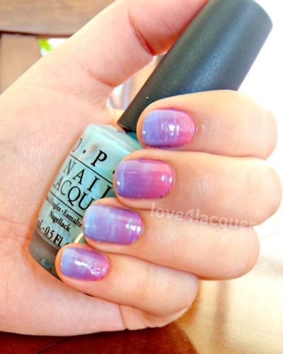 Multi-Colour Ombre Nails