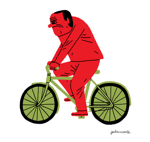 illustratedgents:  cycling is fun (by jochenworld)